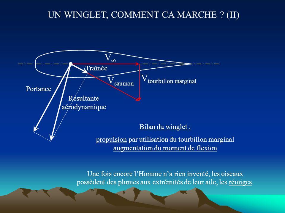 UN WINGLET, COMMENT CA MARCHE (II)