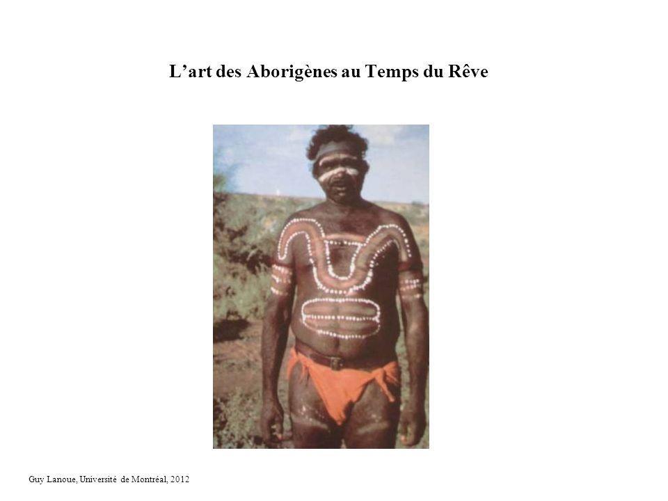 L'art des Aborigènes au Temps du Rêve