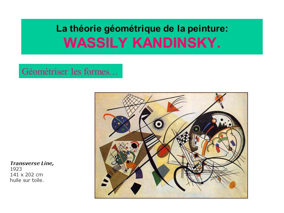 La théorie géométrique de la peinture: WASSILY KANDINSKY.