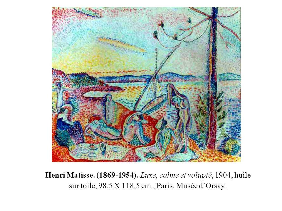 Henri Matisse. (1869-1954).