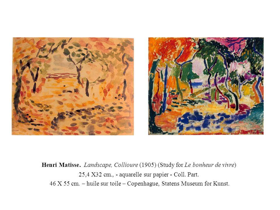 25,4 X32 cm., - aquarelle sur papier - Coll. Part.