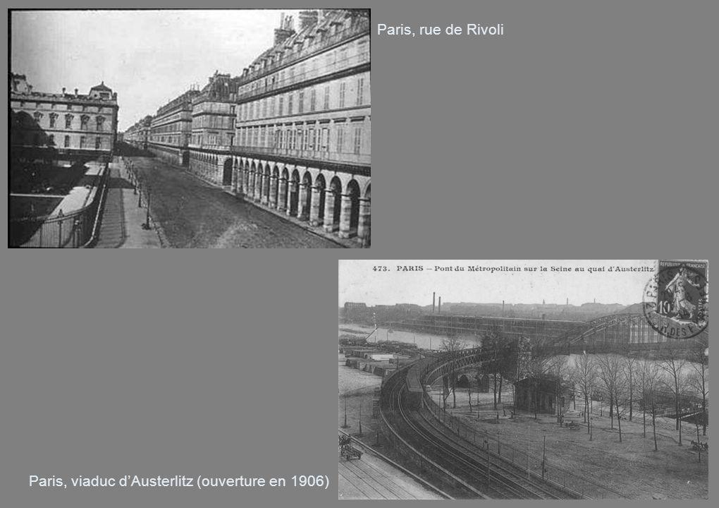 Paris, viaduc d'Austerlitz (ouverture en 1906)