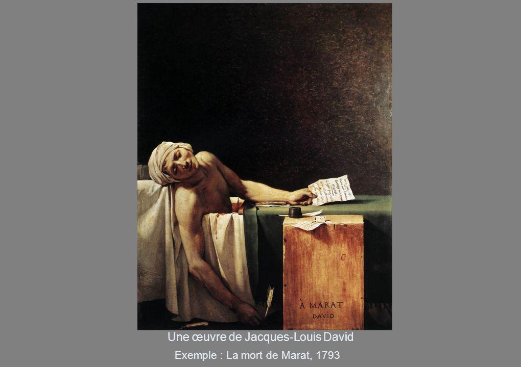 Une œuvre de Jacques-Louis David