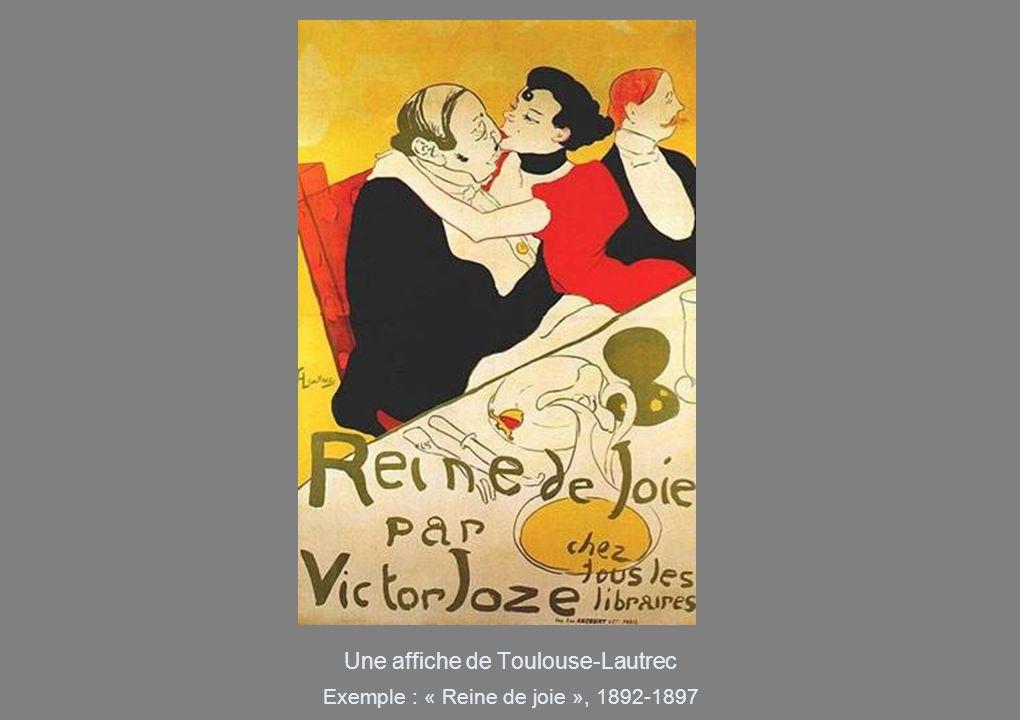 Une affiche de Toulouse-Lautrec
