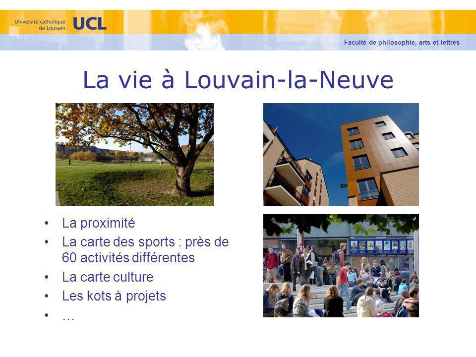 La vie à Louvain-la-Neuve