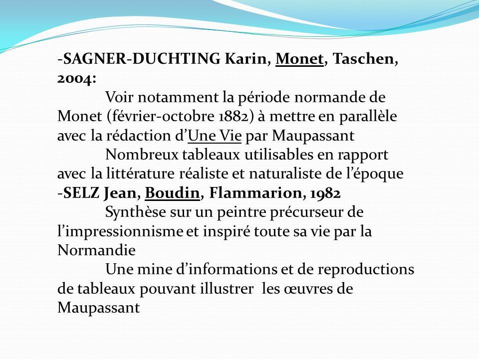 -SAGNER-DUCHTING Karin, Monet, Taschen, 2004:
