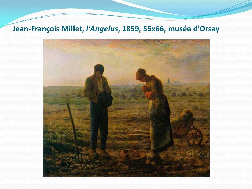 Jean-François Millet, l Angelus, 1859, 55x66, musée d Orsay