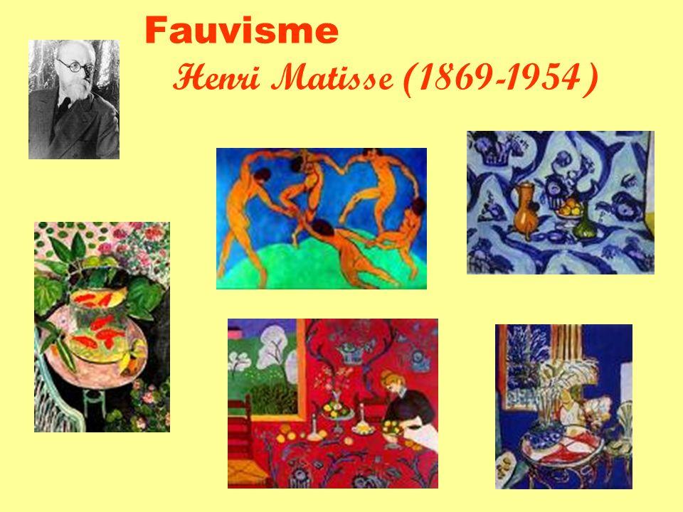 Fauvisme Henri Matisse (1869-1954)