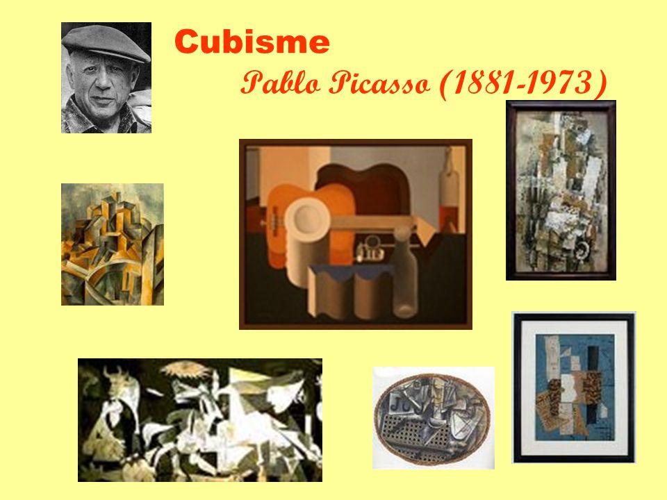 Cubisme Pablo Picasso (1881-1973)