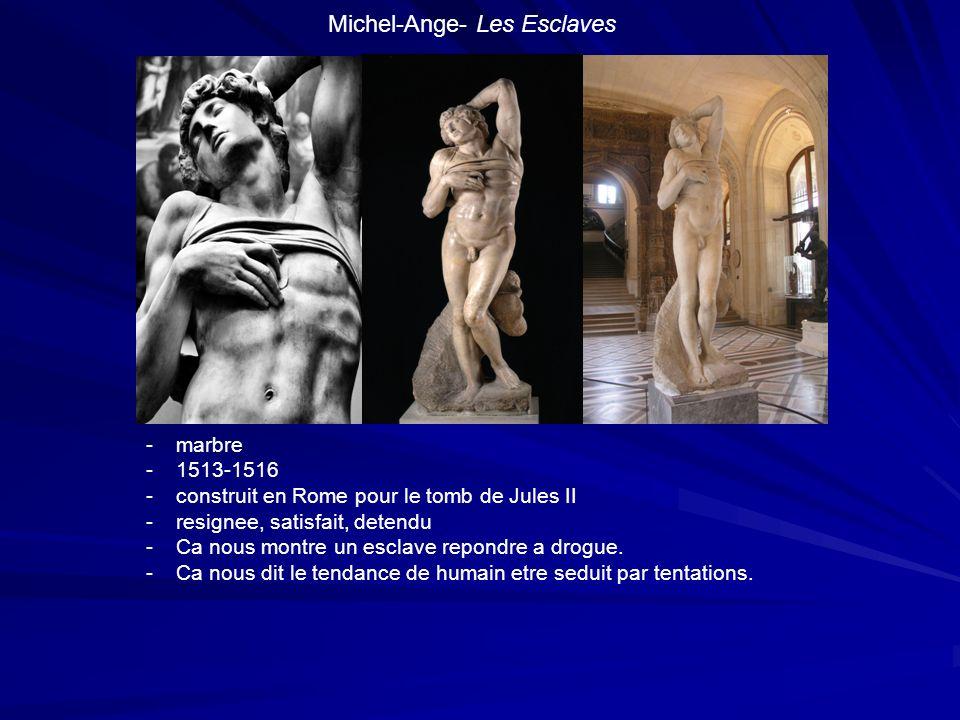 Michel-Ange- Les Esclaves