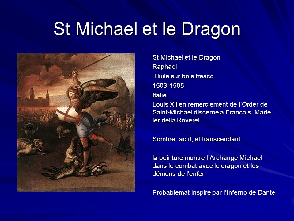 St Michael et le Dragon