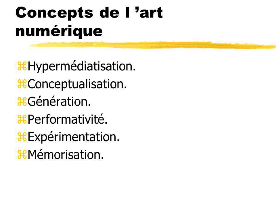 Concepts de l 'art numérique