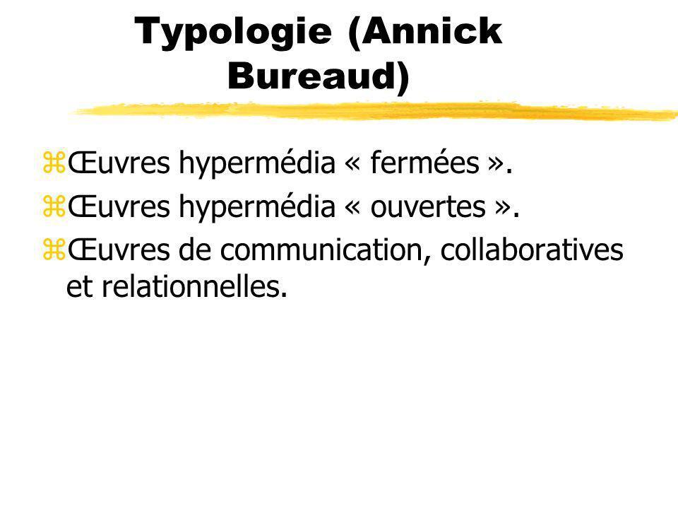 Typologie (Annick Bureaud)