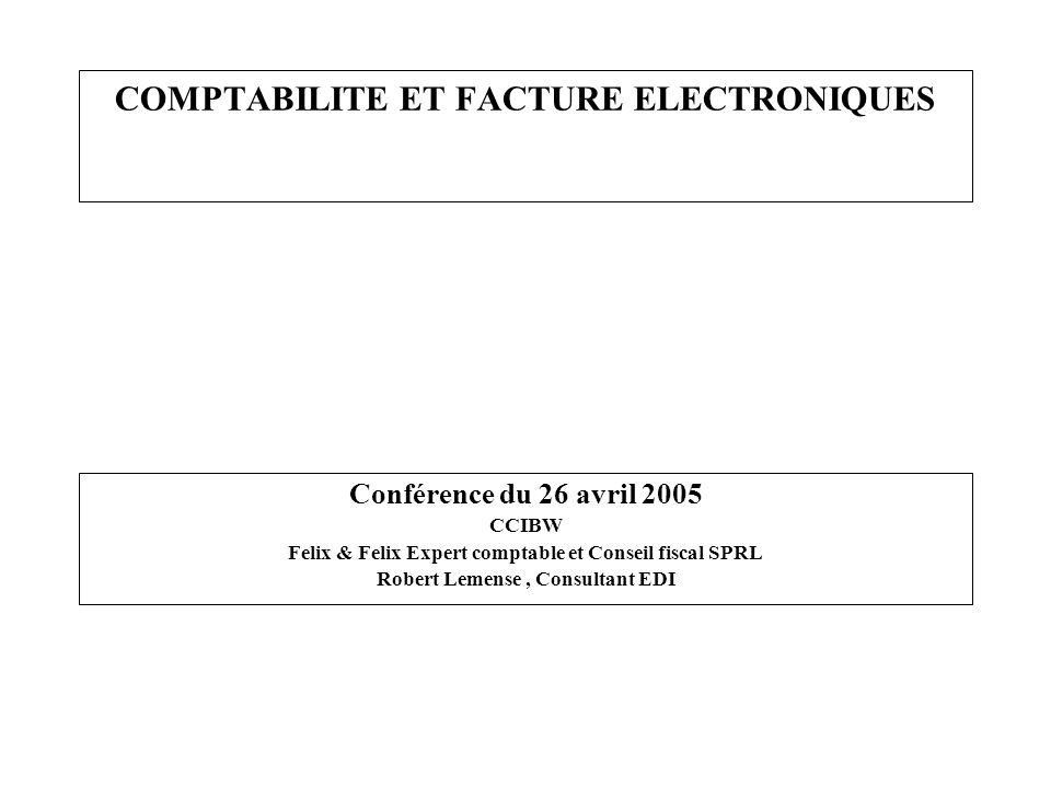 COMPTABILITE ET FACTURE ELECTRONIQUES