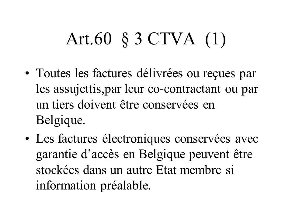 Art.60 § 3 CTVA (1)