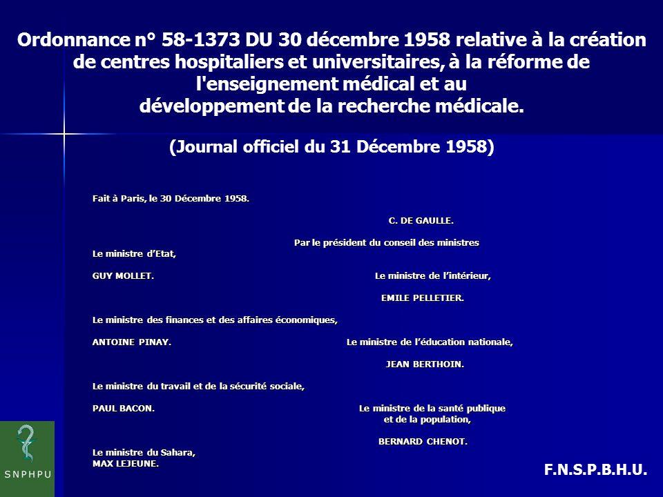 développement de la recherche médicale.