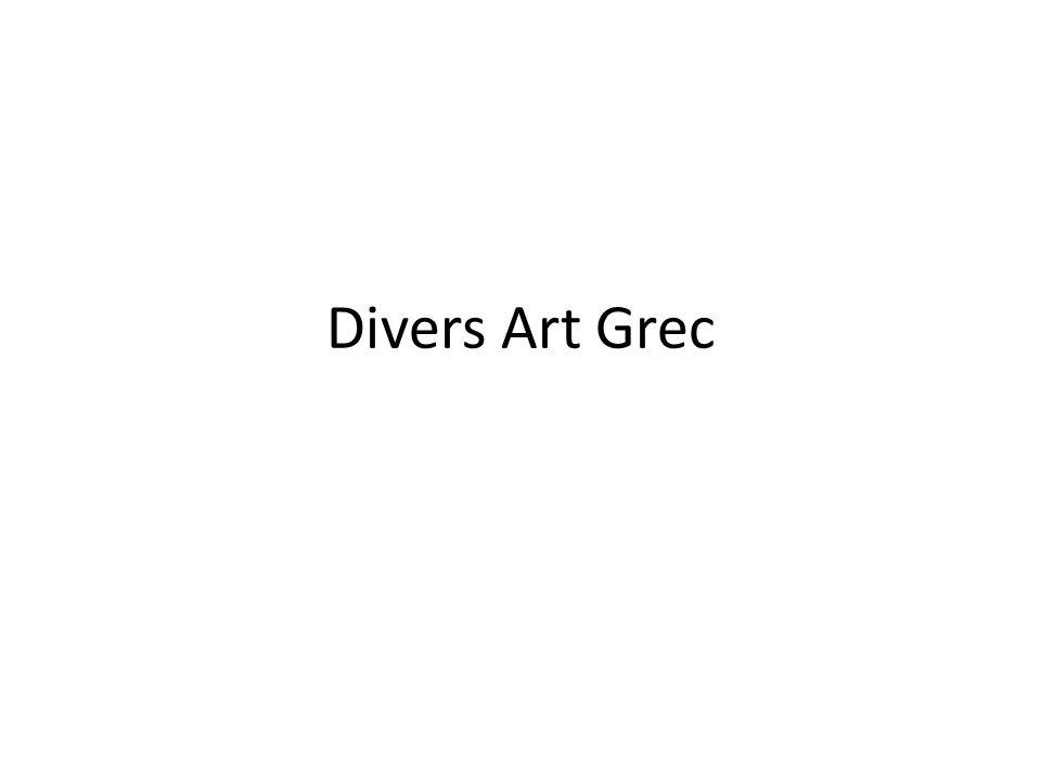 Divers Art Grec
