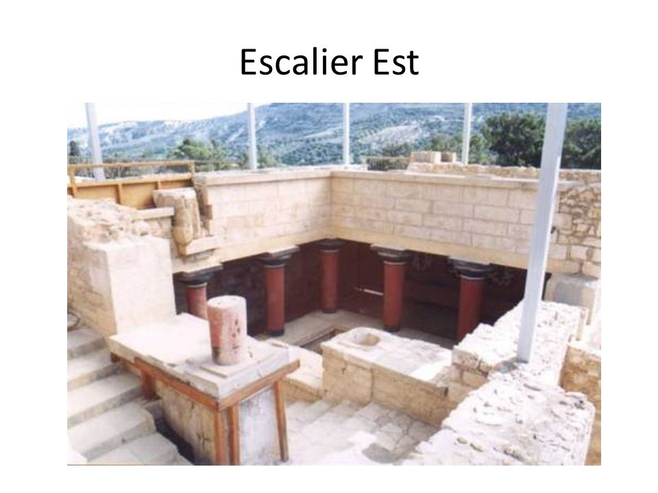 Escalier Est