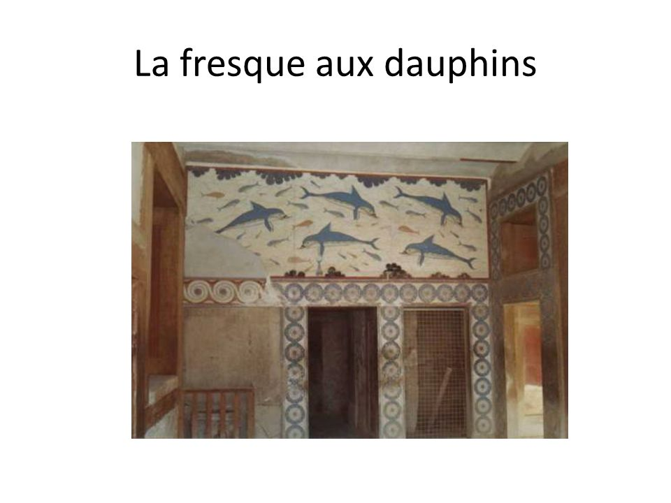 La fresque aux dauphins