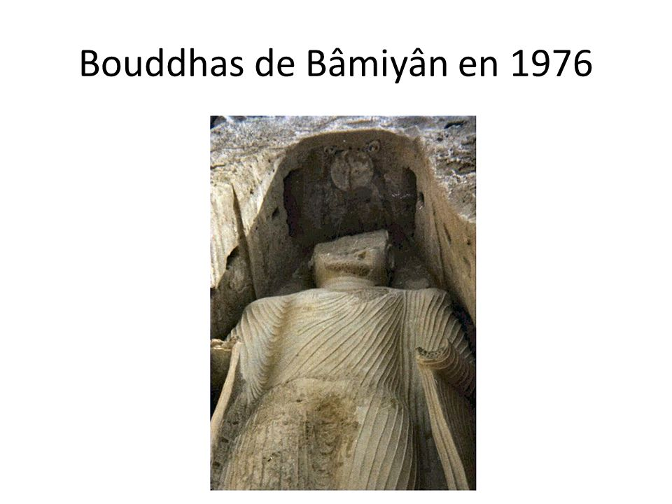Bouddhas de Bâmiyân en 1976