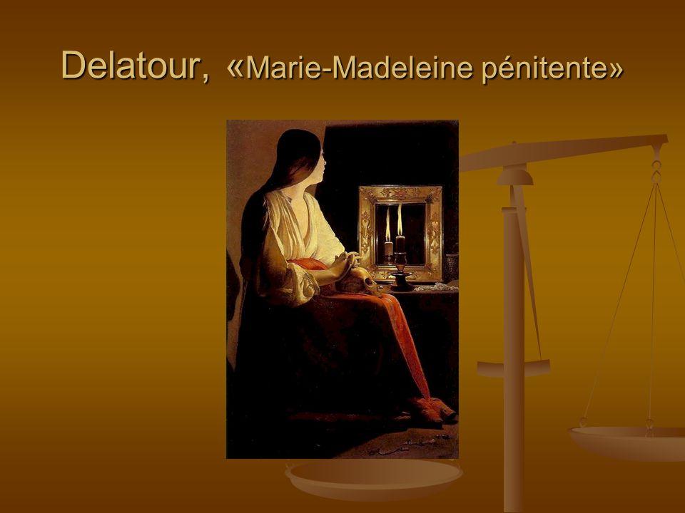 Delatour, «Marie-Madeleine pénitente»