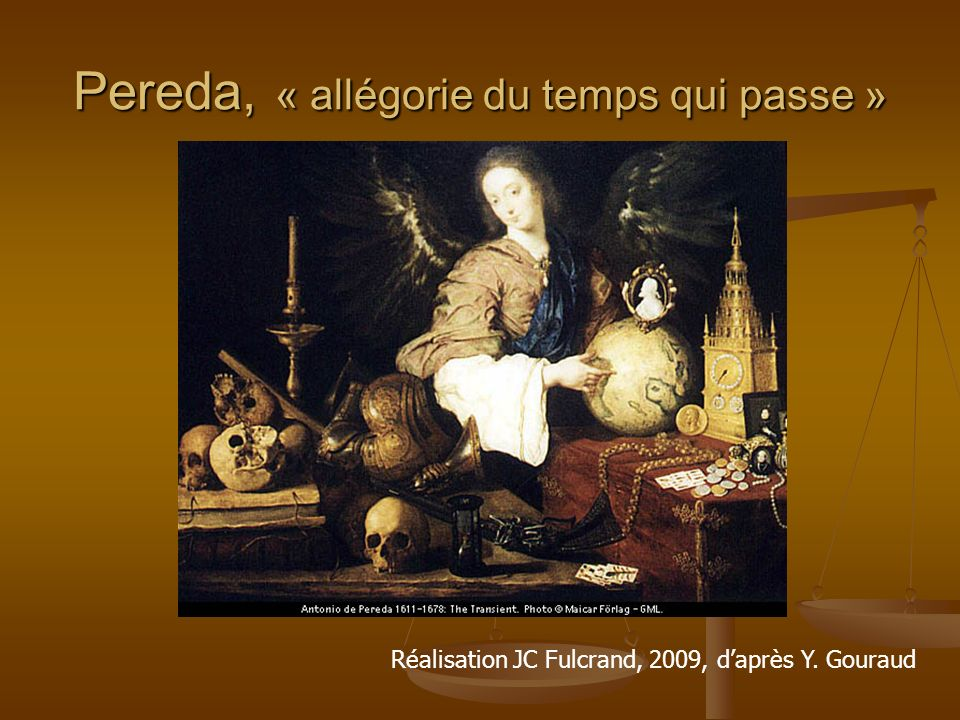 Pereda, « allégorie du temps qui passe »
