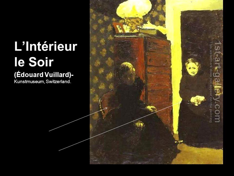 L'Intérieur le Soir (Édouard Vuillard)-Kunstmuseum, Switzerland.