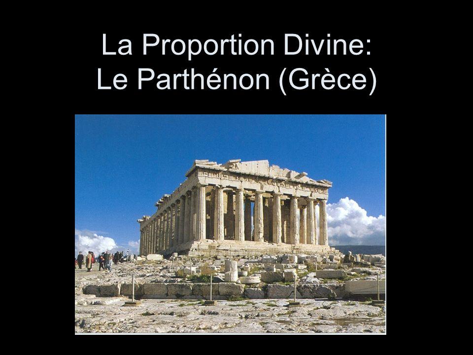 La Proportion Divine: Le Parthénon (Grèce)
