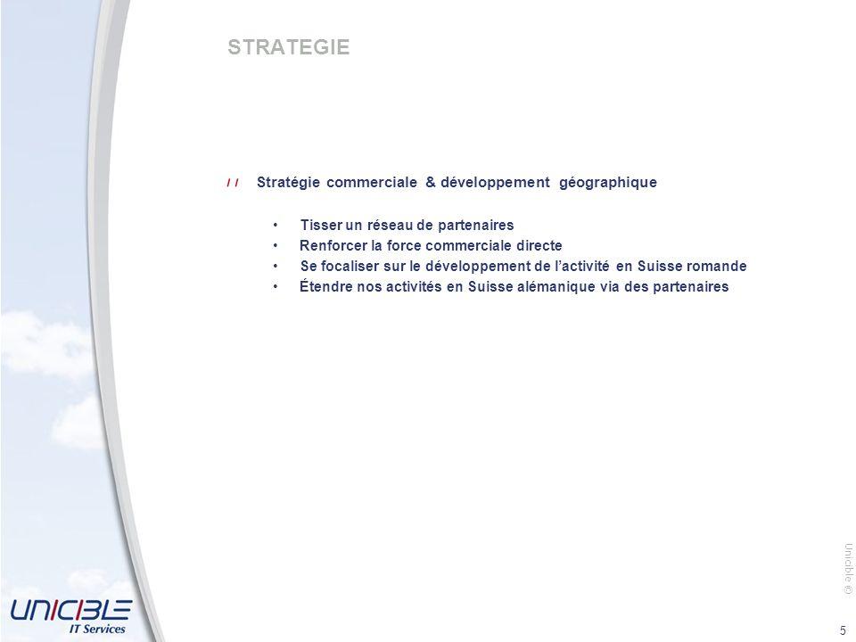 STRATEGIE Stratégie commerciale & développement géographique