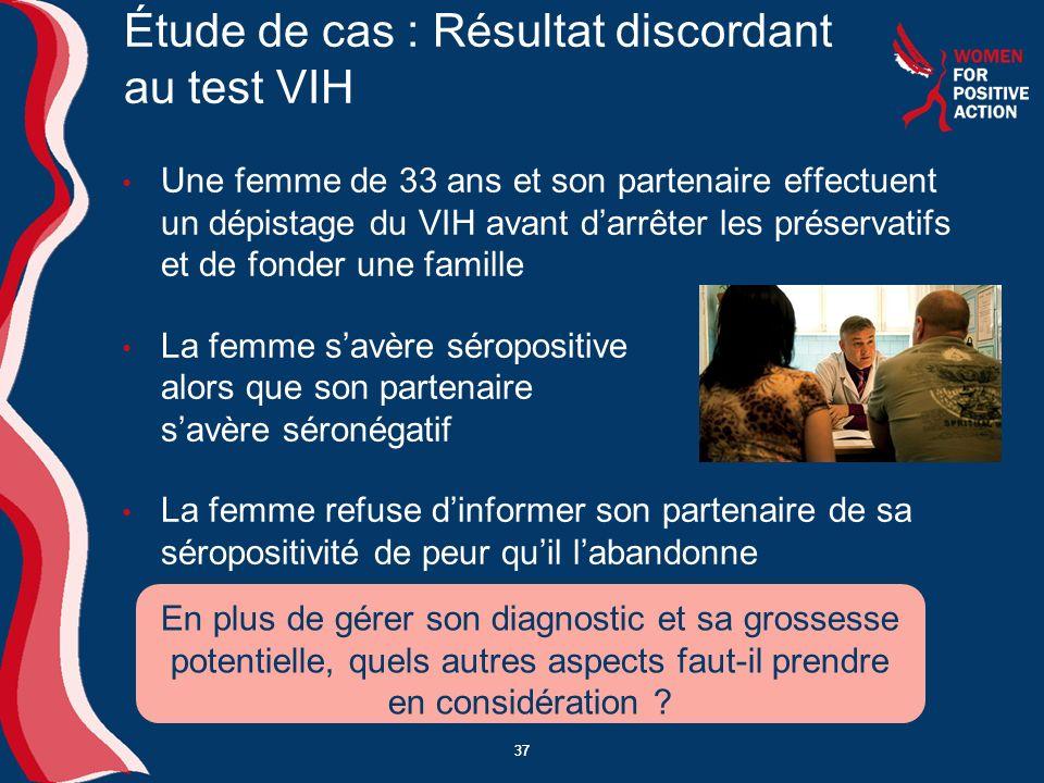 Étude de cas : Résultat discordant au test VIH