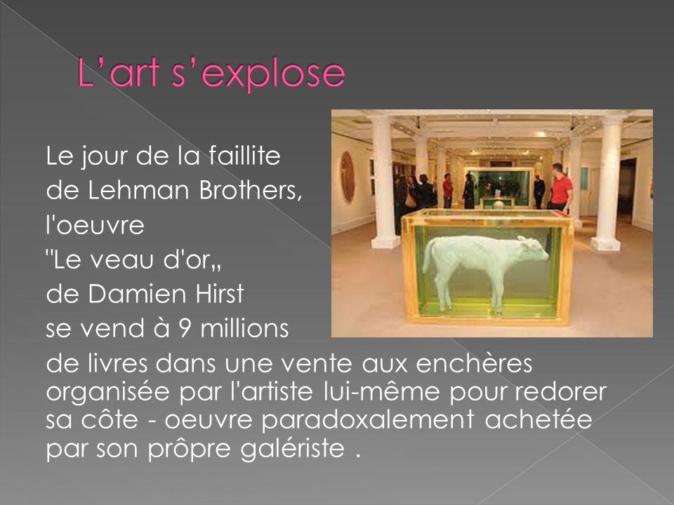 L'art s'explose