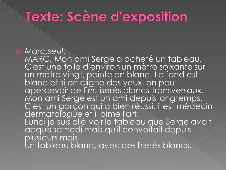 Texte: Scène d exposition