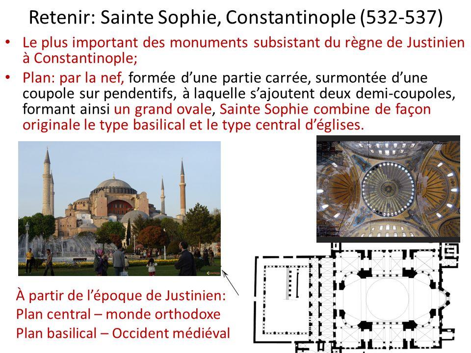 Retenir: Sainte Sophie, Constantinople (532-537)