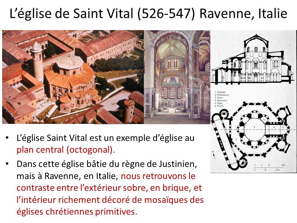 L'église de Saint Vital (526-547) Ravenne, Italie