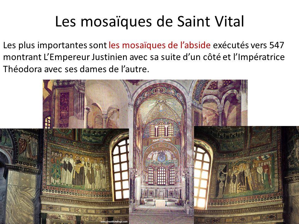 Les mosaïques de Saint Vital