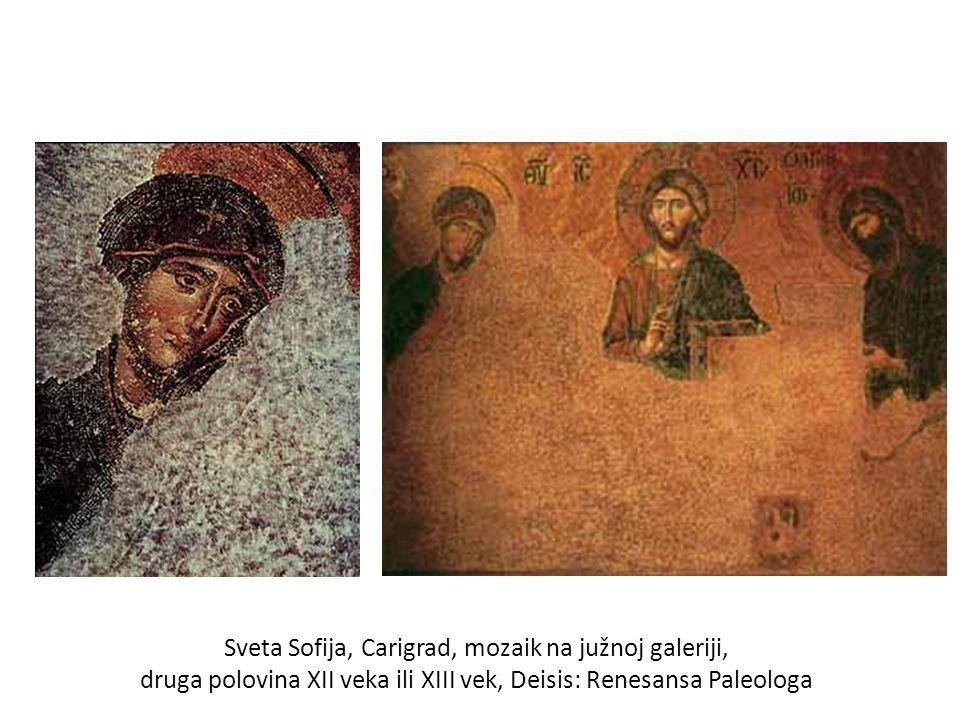 Sveta Sofija, Carigrad, mozaik na južnoj galeriji,
