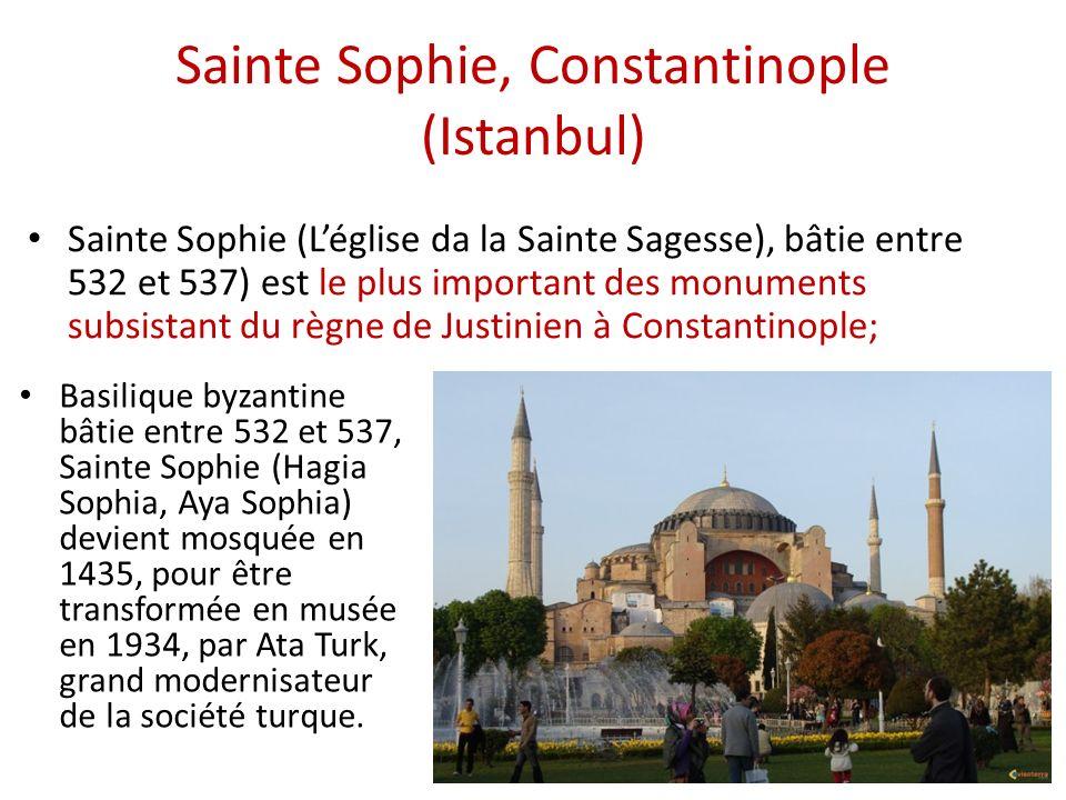 Sainte Sophie, Constantinople (Istanbul)