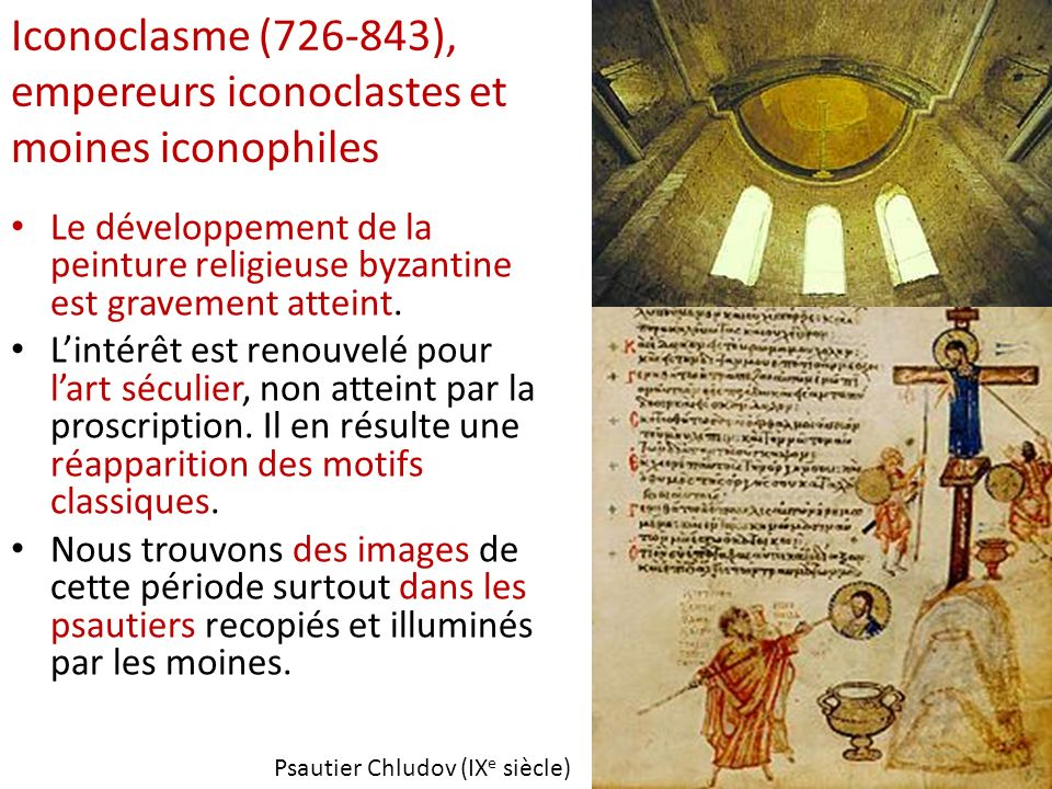 Iconoclasme (726-843), empereurs iconoclastes et moines iconophiles