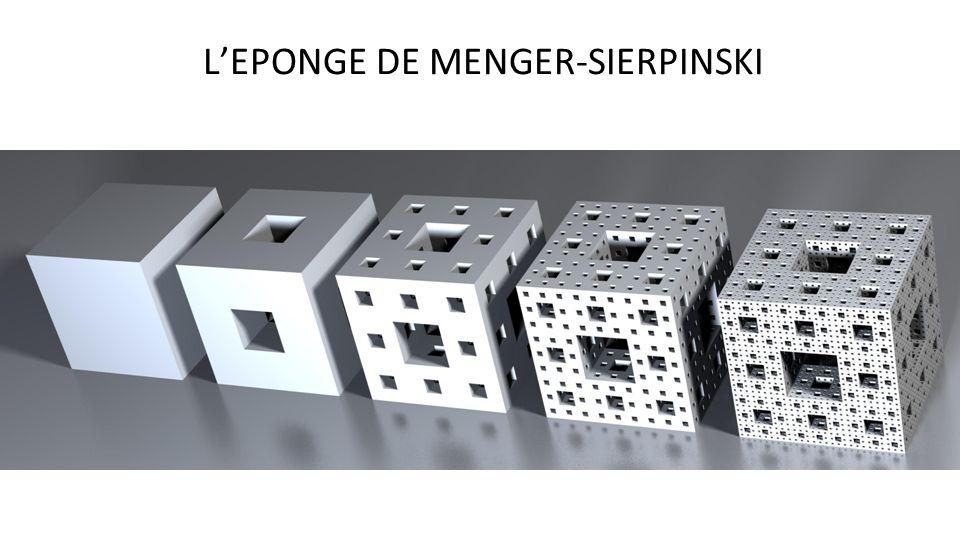 L'EPONGE DE MENGER-SIERPINSKI