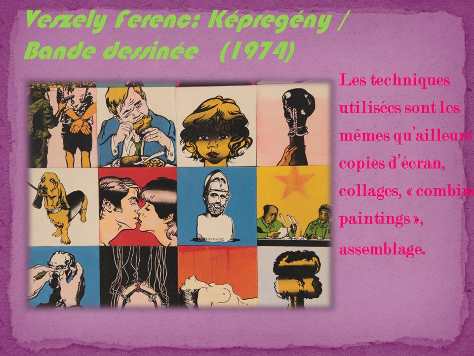 Veszely Ferenc: Képregény / Bande dessinée (1974)