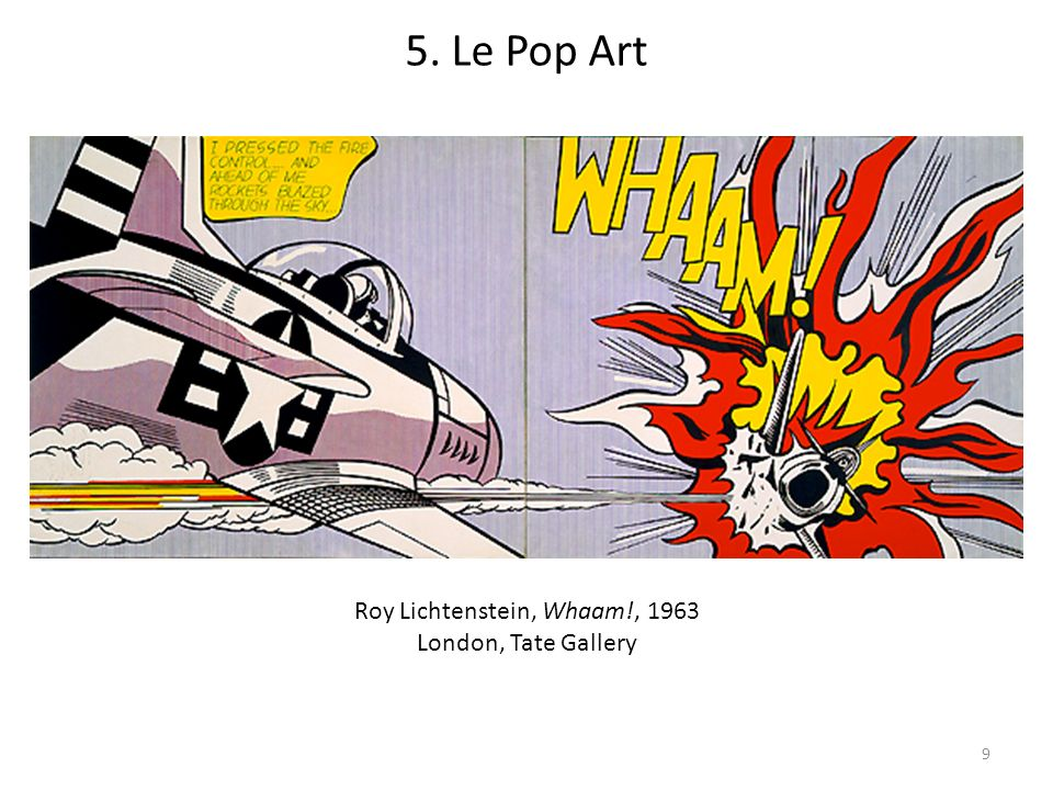Roy Lichtenstein, Whaam!, 1963