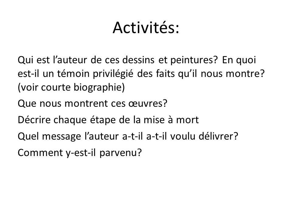 Activités: