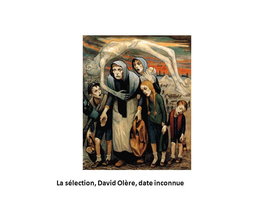 La sélection, David Olère, date inconnue