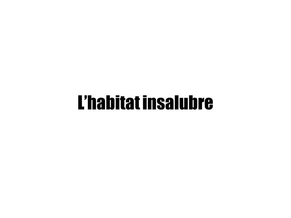 L'habitat insalubre