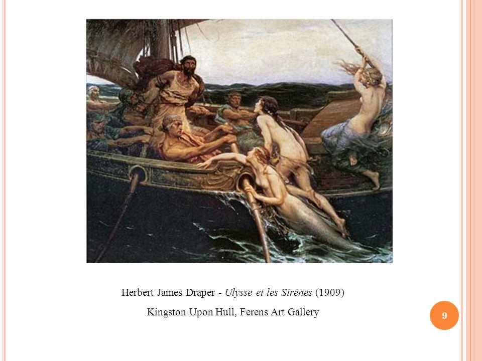 Herbert James Draper - Ulysse et les Sirènes (1909)