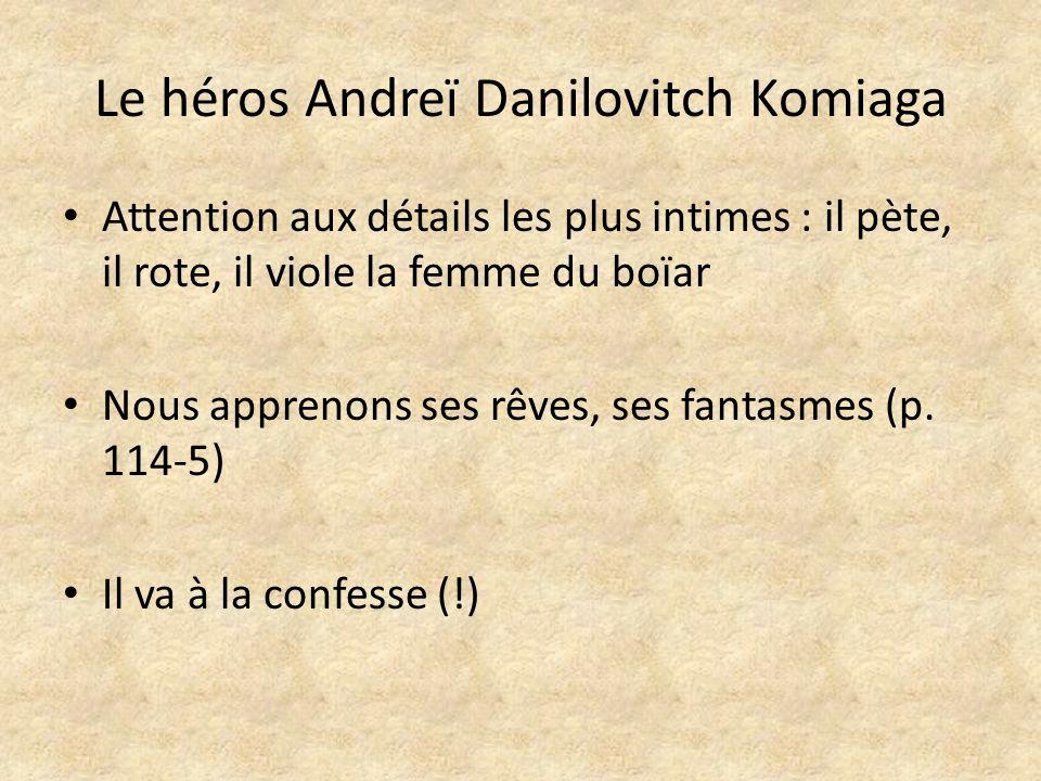 Le héros Andreï Danilovitch Komiaga