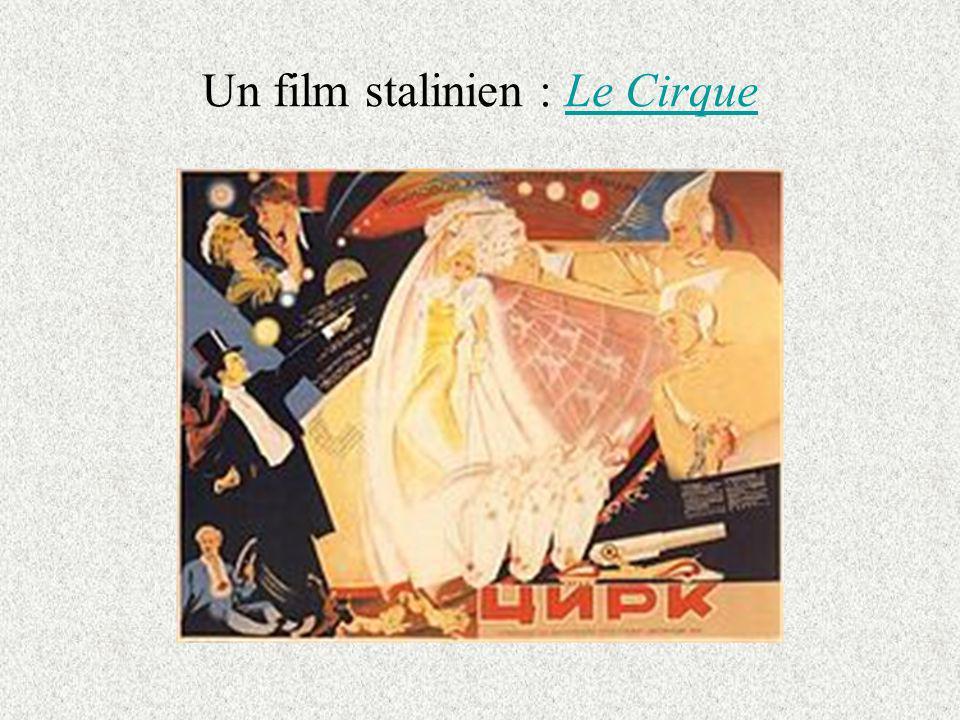 Un film stalinien : Le Cirque