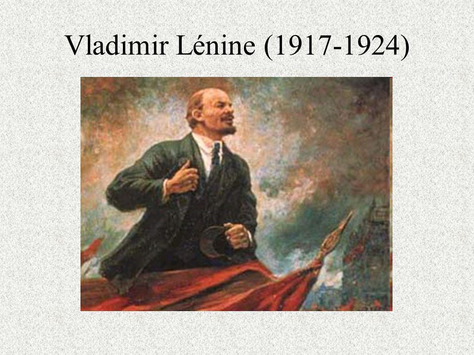 Vladimir Lénine (1917-1924)