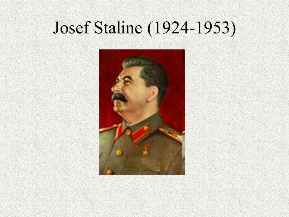 Josef Staline (1924-1953)
