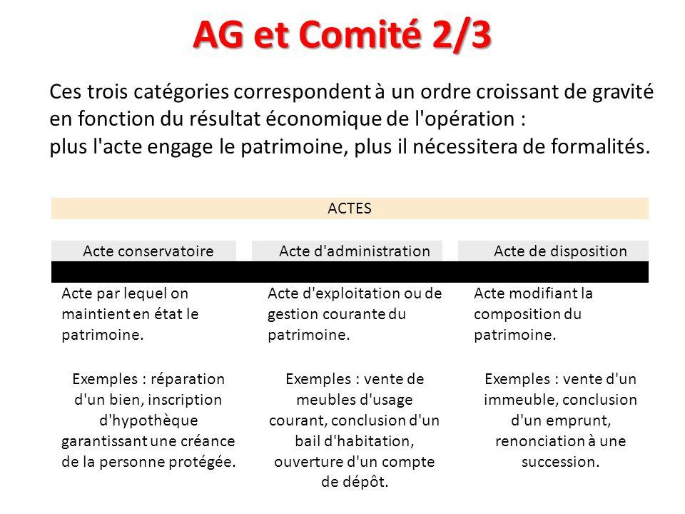 AG et Comité 2/3